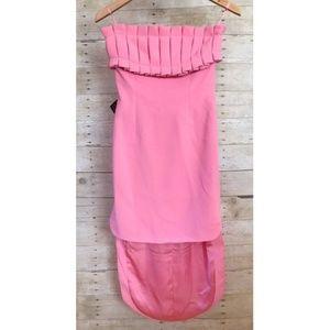 NWT Nasty Gal Bubblegum Pink HighLo Cocktail Dress
